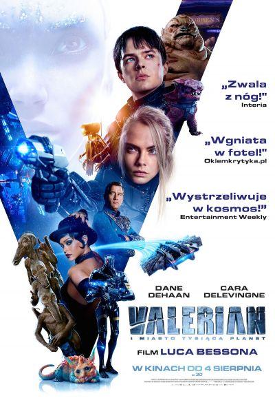 Valerian i miasto tysiąca planet (2017)