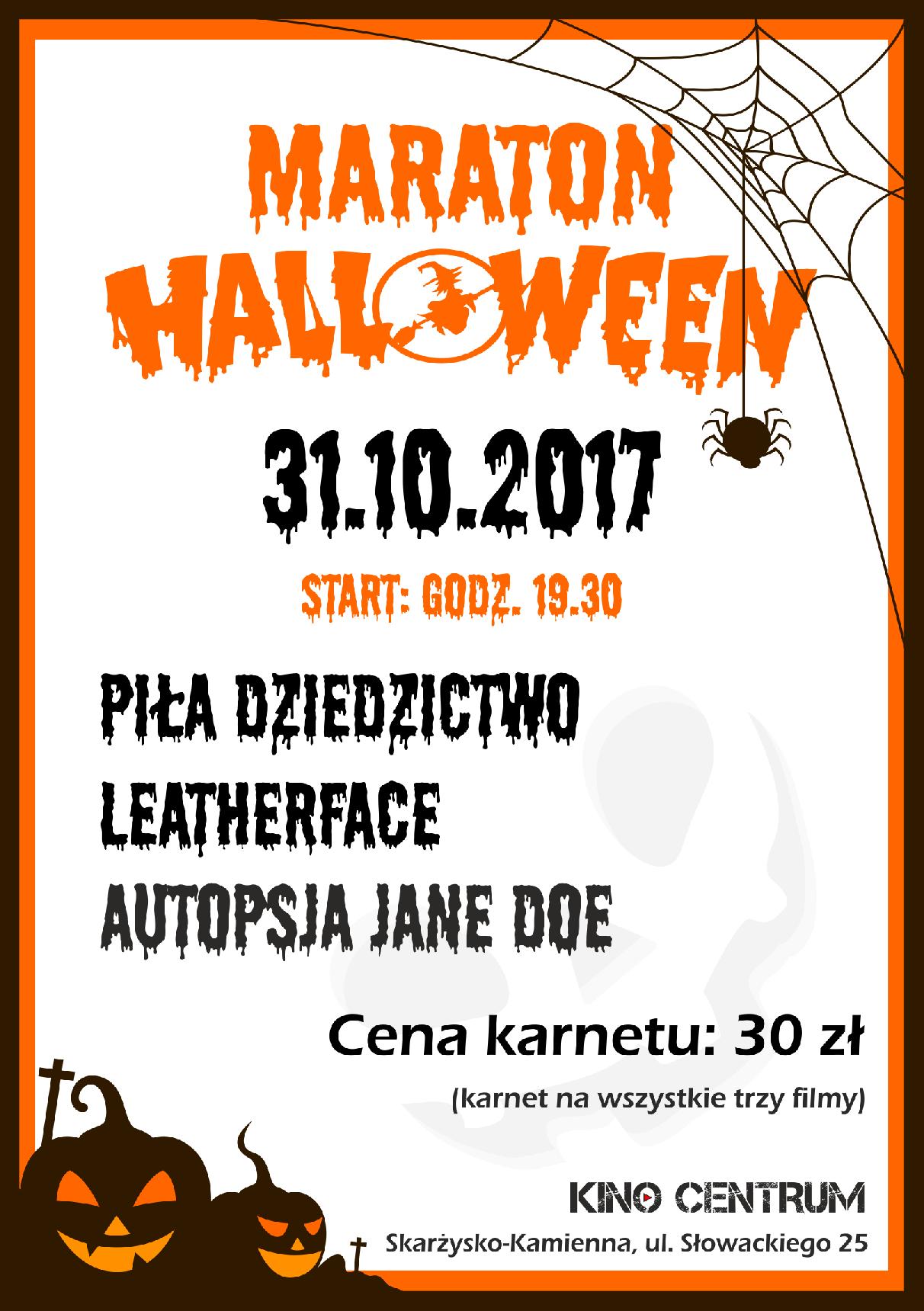 Maraton Halloween (2017)
