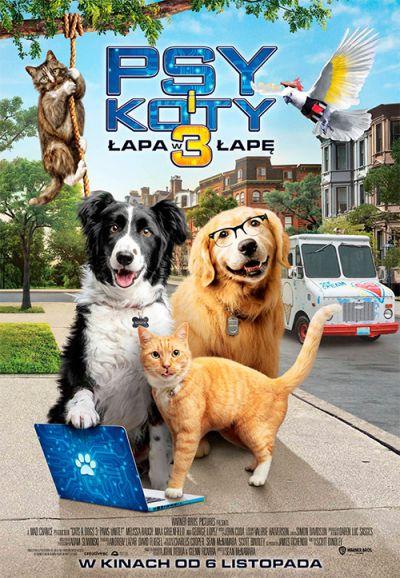 Psy i Koty 3: Łapa w łapę (2020)